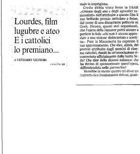 articolo del Corriere