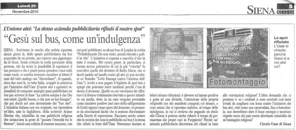 Corriere di Siena 291110