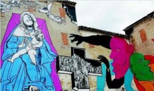 Murales di Gezi Ozmo e Run