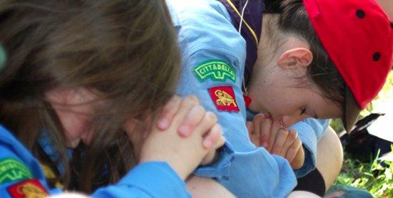 scout in preghiera