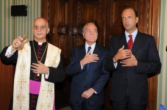 Alfano, Letta, Fisichella