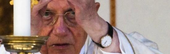 Benedetto XVI e la Chiesa in crisi