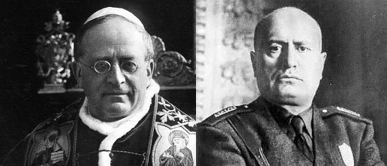 Pio XI, Mussolini
