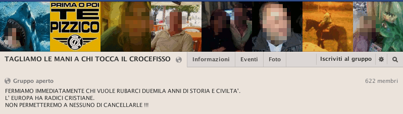 Un gruppo Facebook