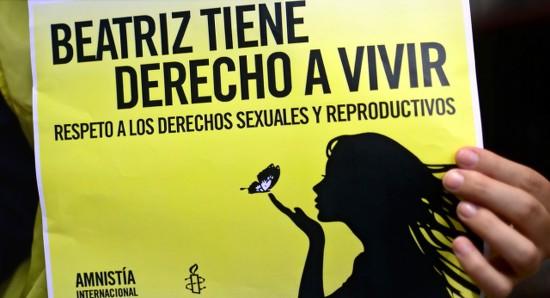 Beatriz - Amnesty (AFP)