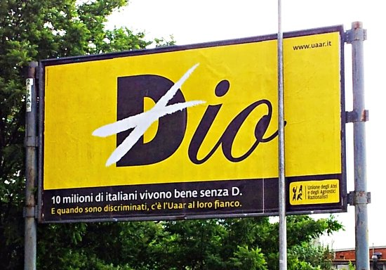 Affissione a Bologna (Casalecchio, zona Ikea)