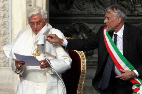 Pisapia e il papa