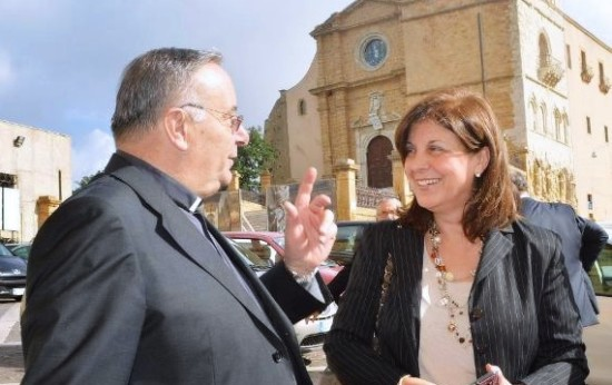 La presidente del gruppo, Margherita La Rocca Ruvolo