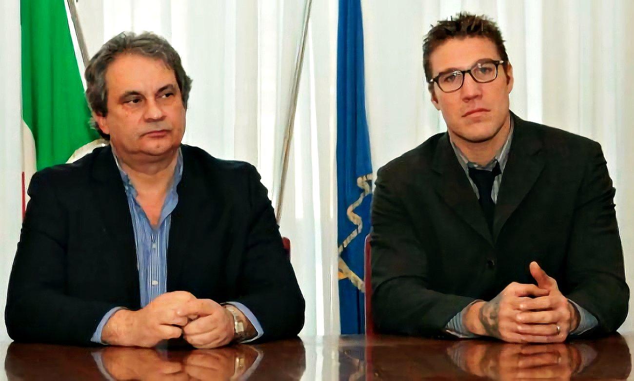 Roberto Fiore e Fabio Tuiach
