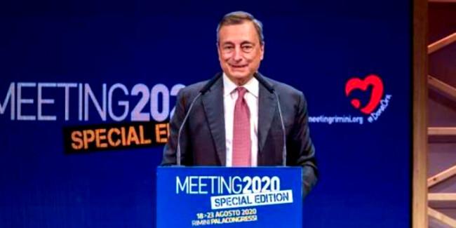 Draghi al Meeting di Cielle